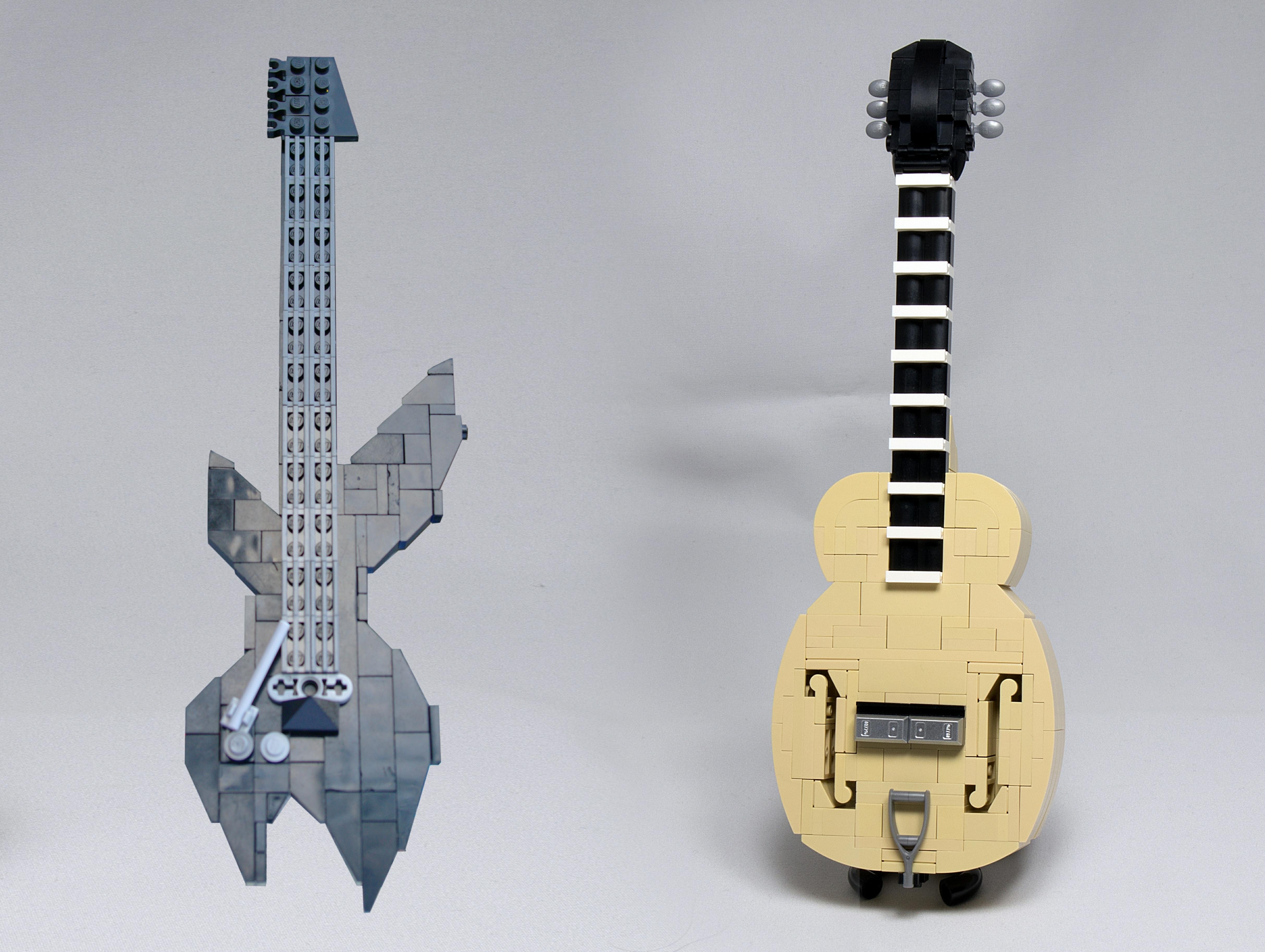 Concurs Who's Your Brick Brother – COMBO 3: Chitara clasica & Chitara electrica