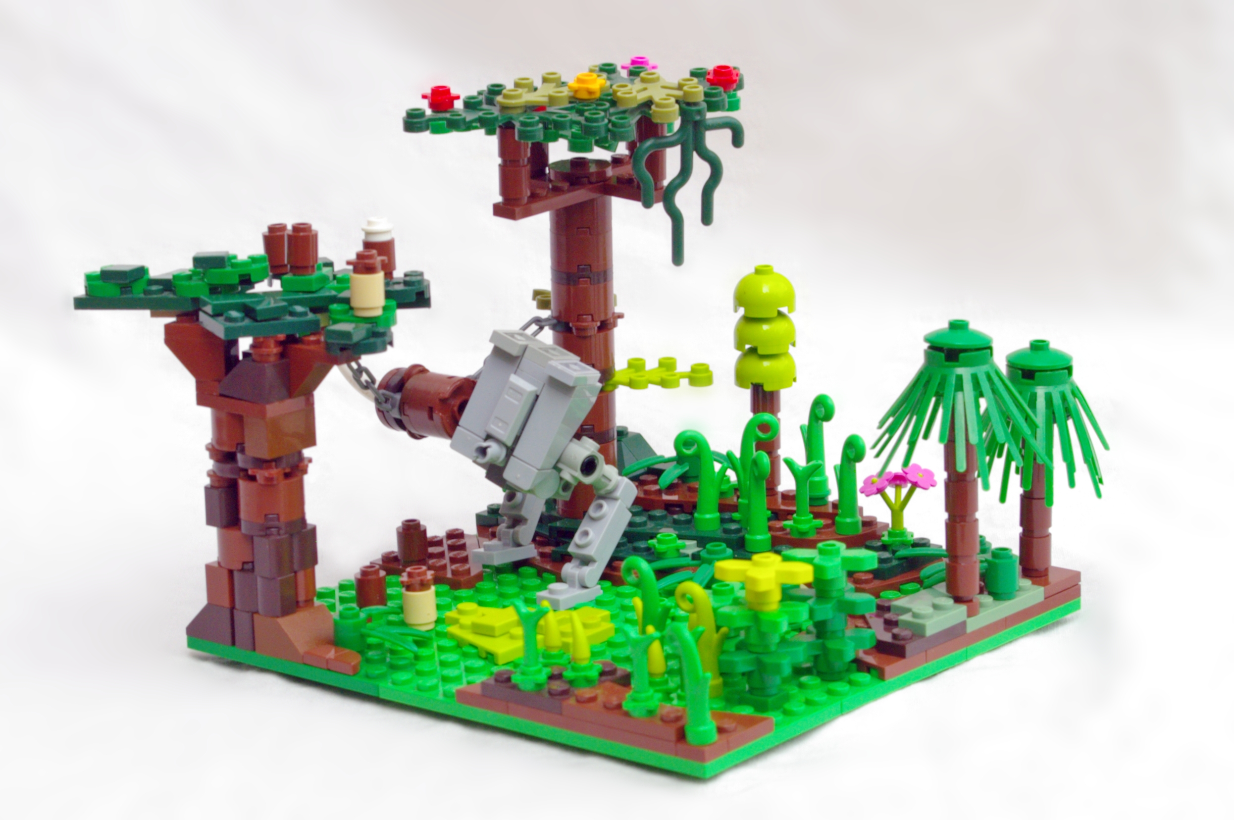 Concurs Microscale Movie Scenes – Creatia 6: Ewoks' Trap