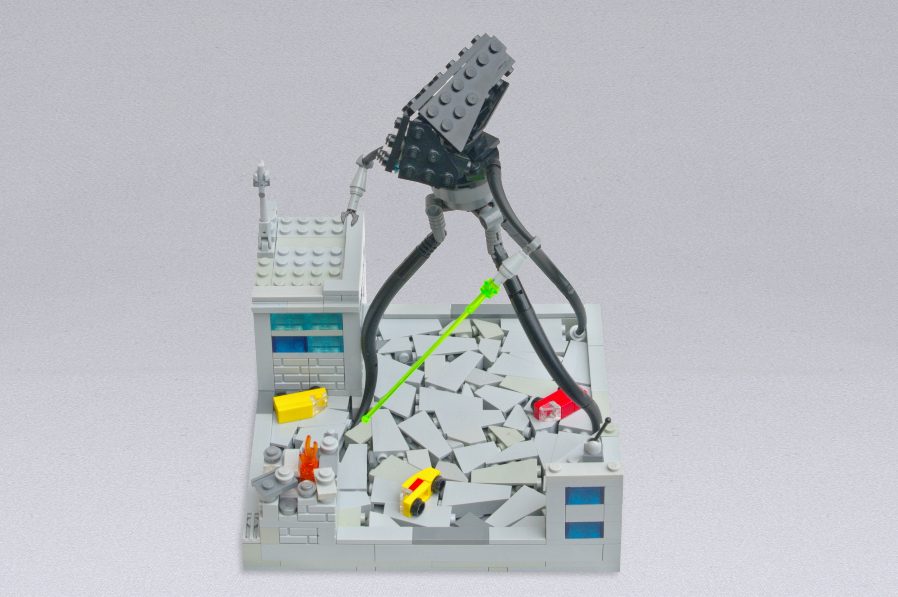Concurs Microscale Movie Scenes – Creatia 7: Tripod Attack