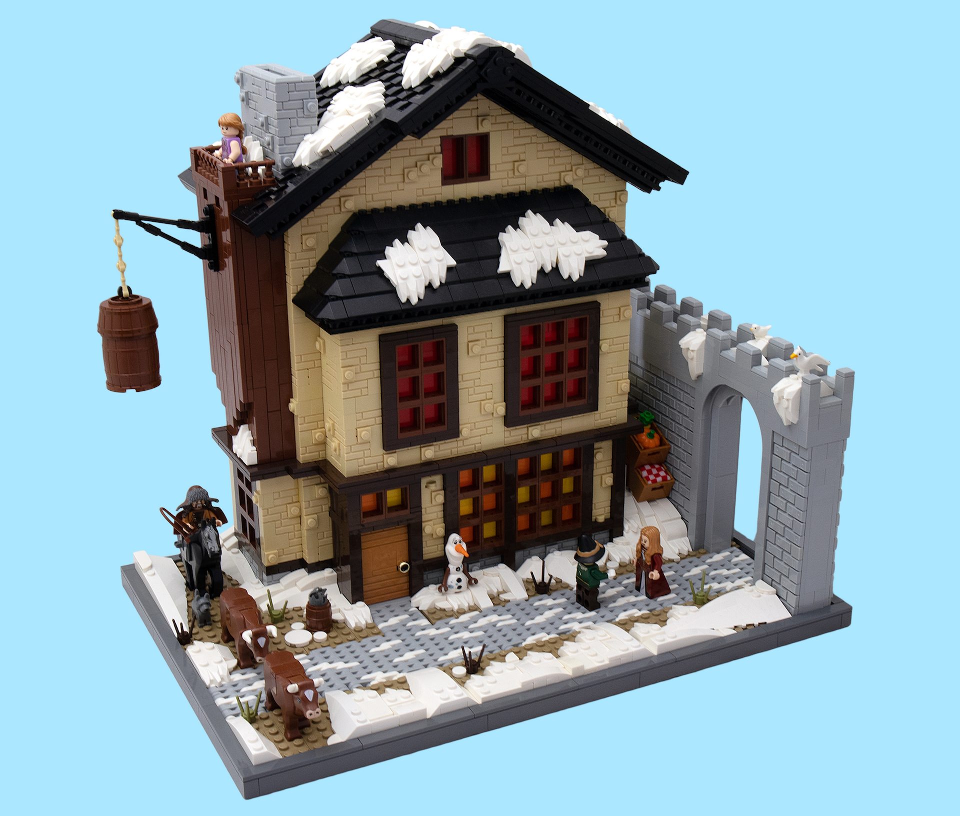 Concurs Winter Brickland – Creatia 3: Alehouse