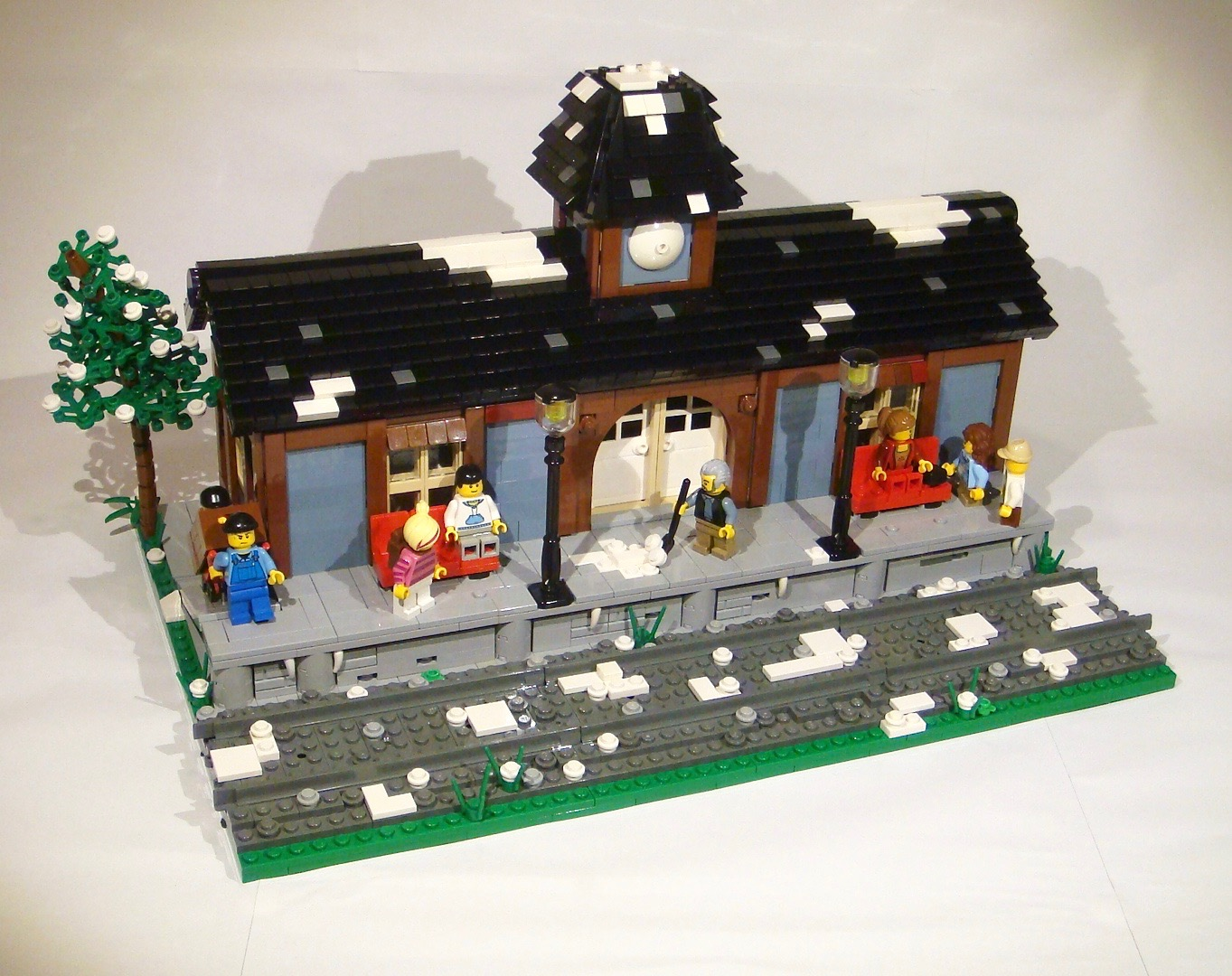 Concurs Winter Brickland – Creatia 9: American Vintage Train Station