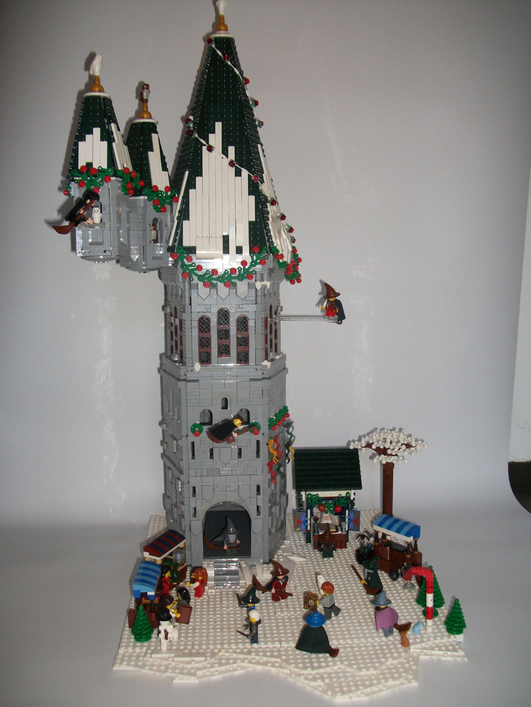 Concurs Winter Brickland – Creatia 11: Wizarding World Christmas Festival