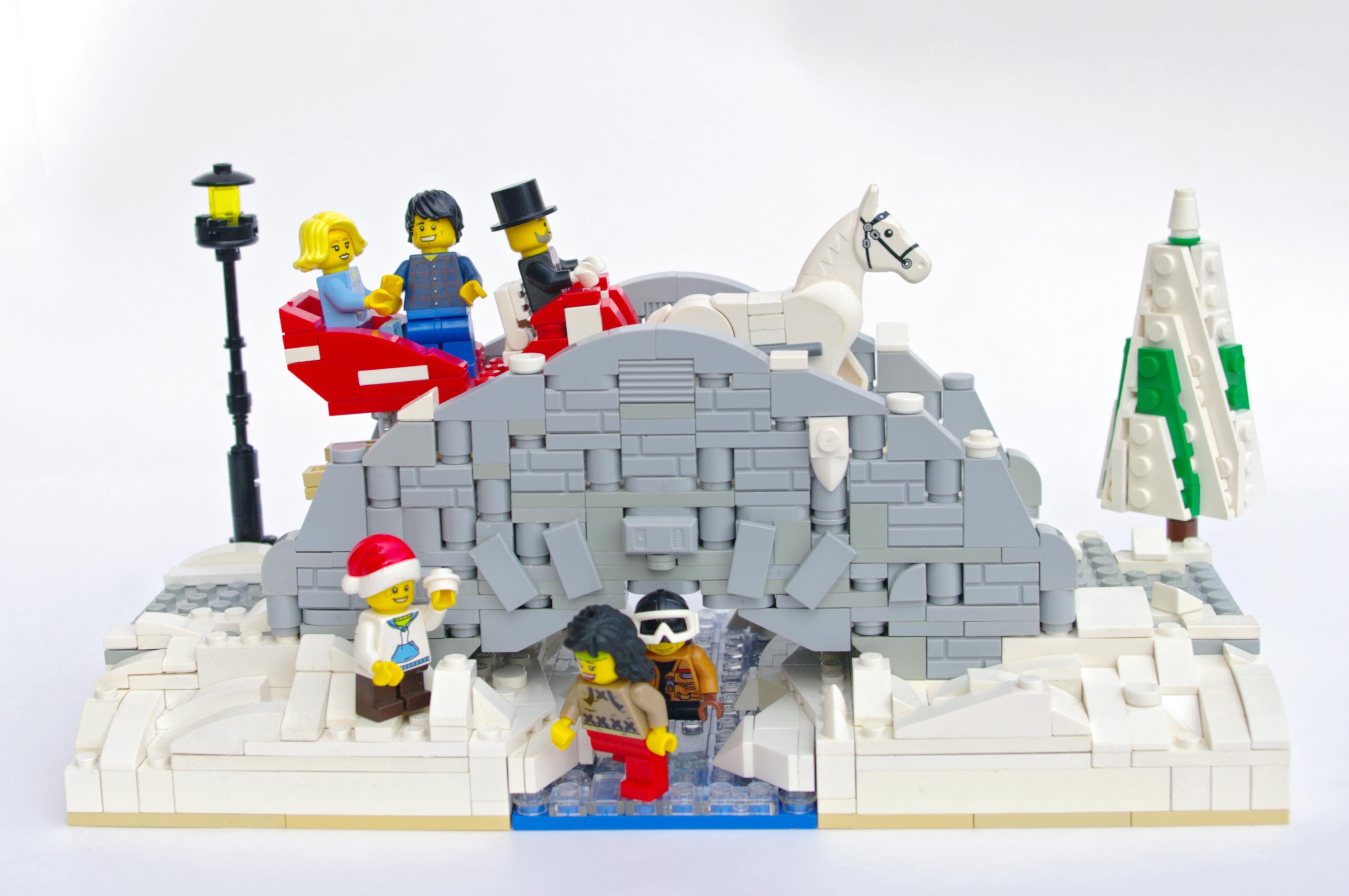 Concurs Winter Brickland – Creatia 10: Winter Bridge