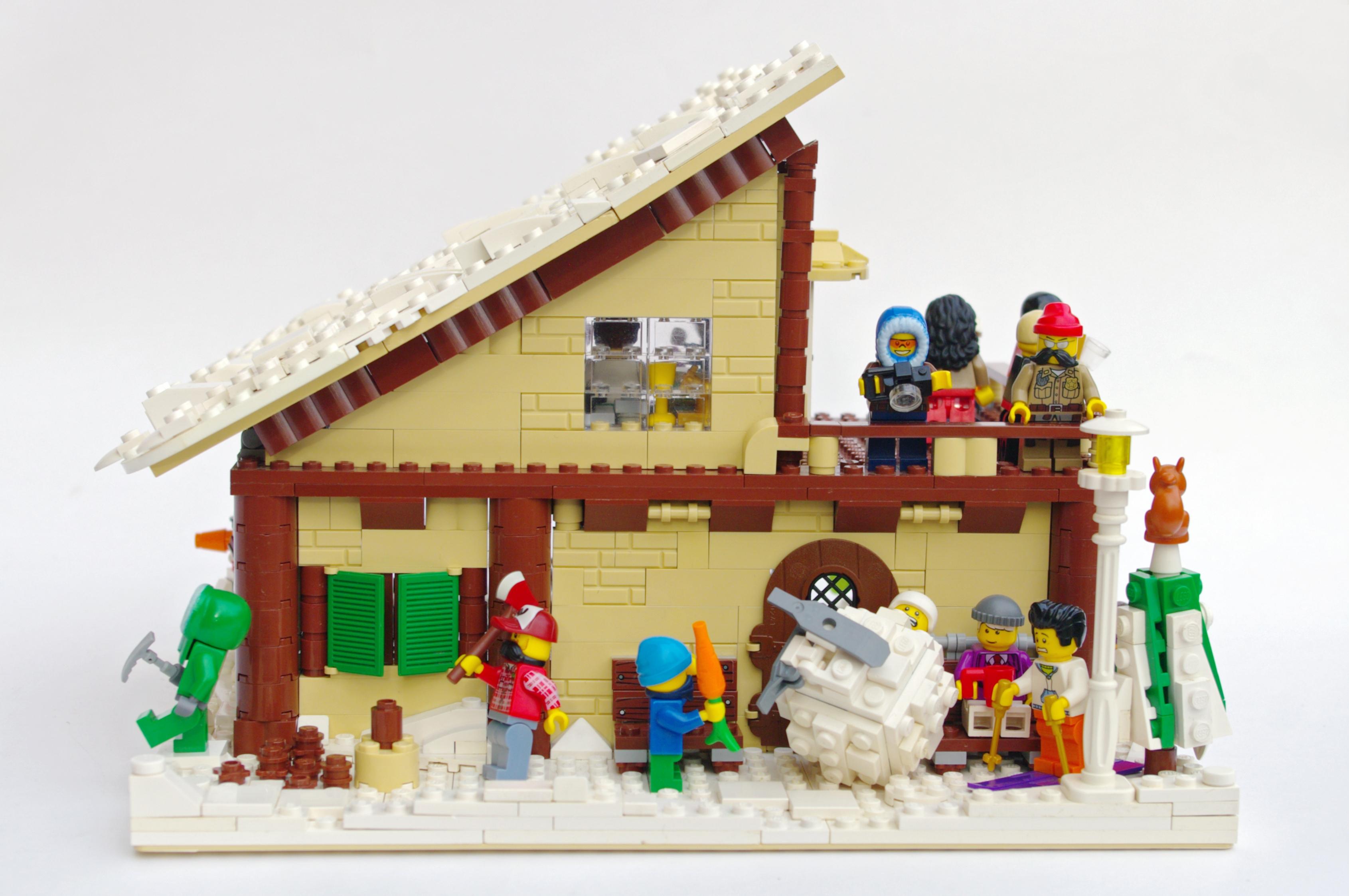 Concurs Winter Brickland – Creatia 8: Cabin in Winter