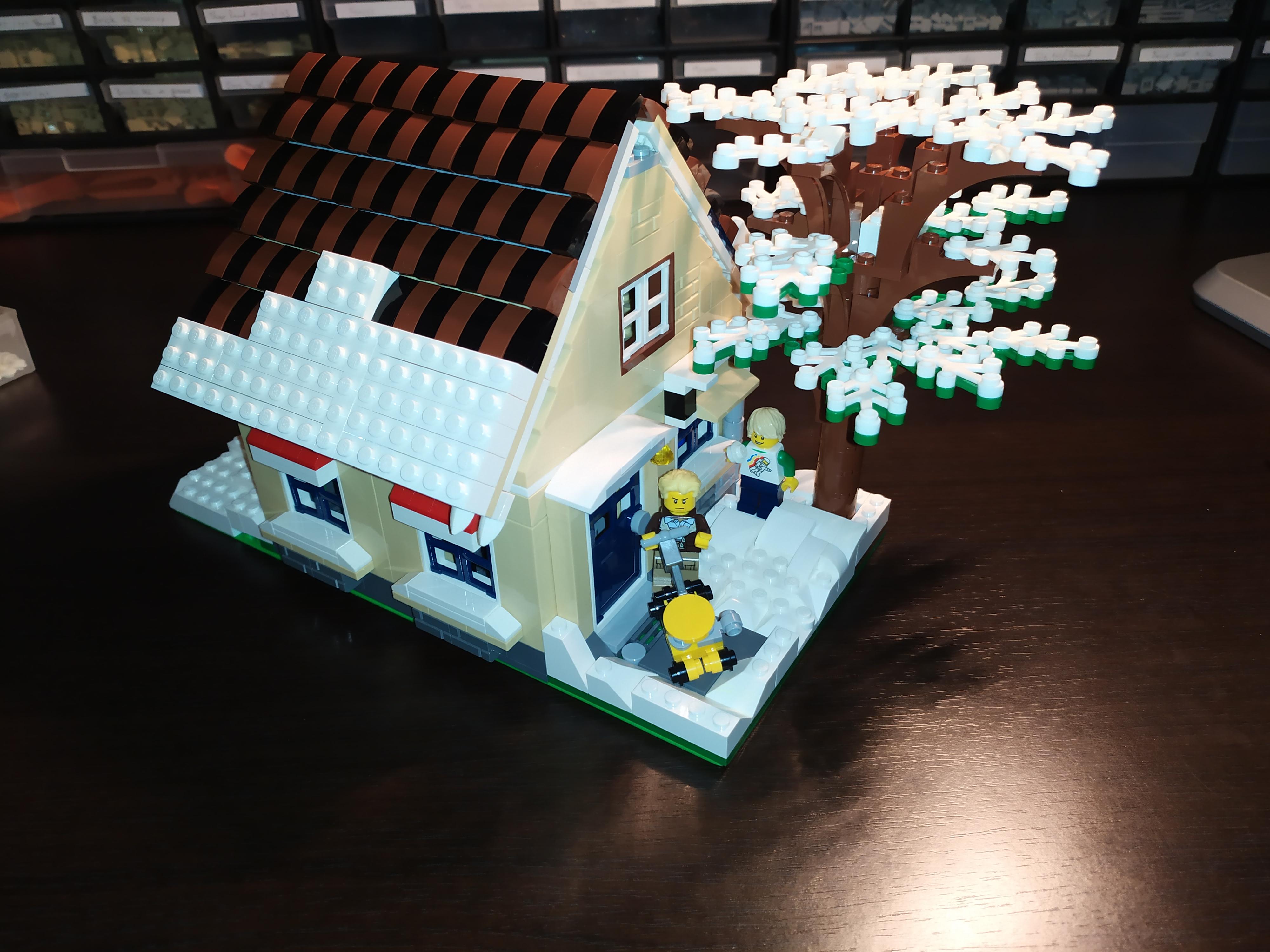 Concurs Winter Brickland – Creatia 4: Curatand zapada