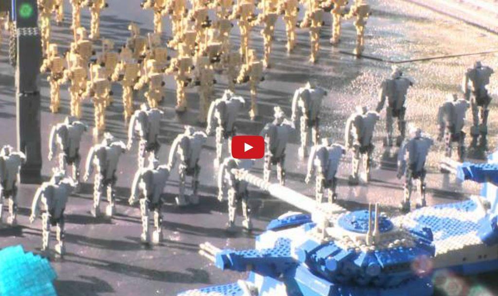 Deschiderea Miniland-ului Star Wars din Legoland California