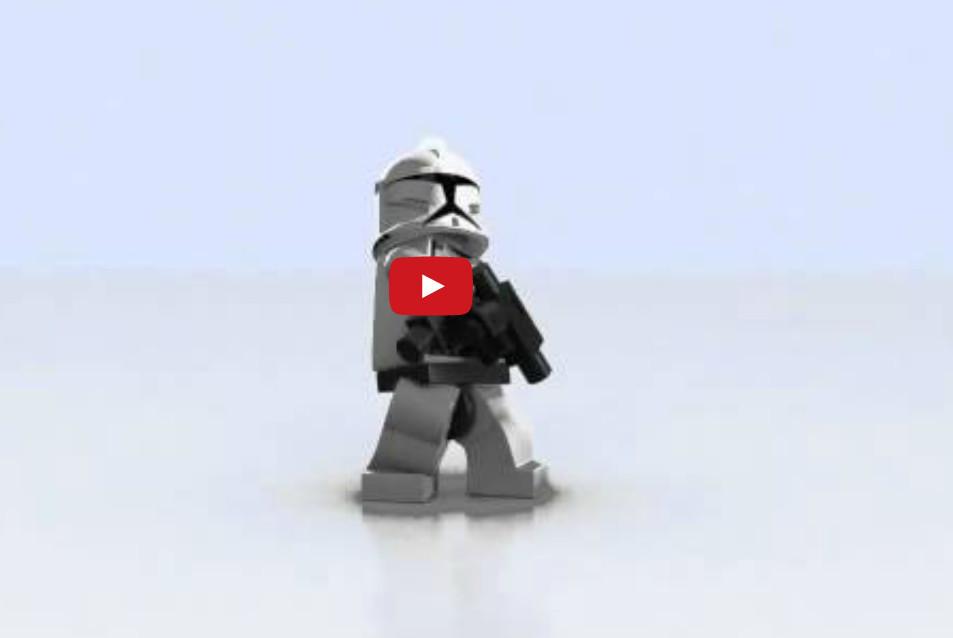 Lego Star Wars 3 (reclama)