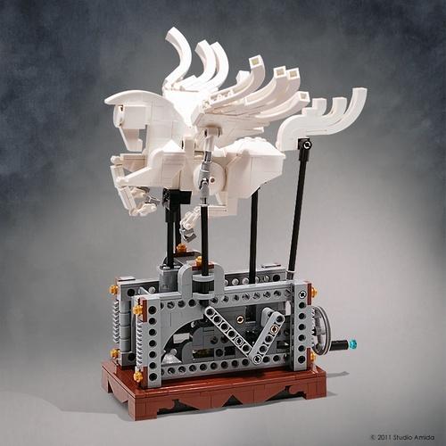 MOC-uri deosebite. Pegasus.