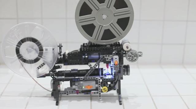 Proiector de filme de 8mm