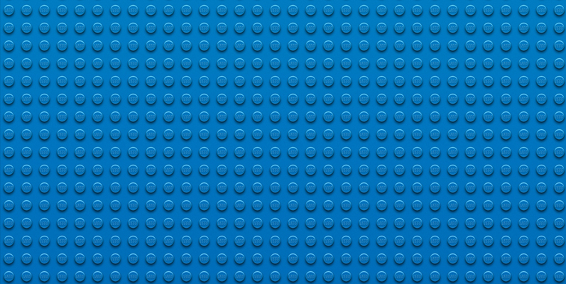 Wallpaper LEGO – Blue