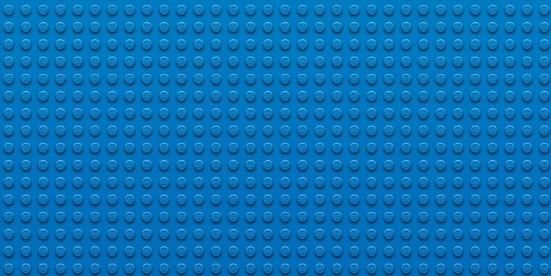 Wallpaper LEGO – Blue