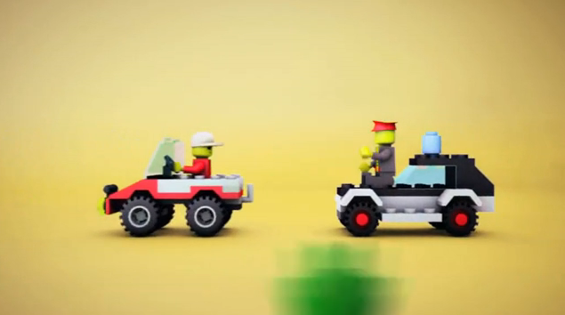 Lego Bumper Helicopter