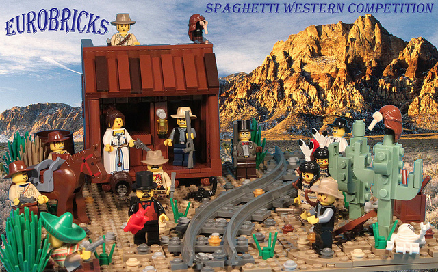 Eurobricks Spaghetti Western Competition