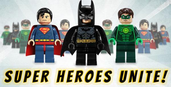 LEGO primeste licenta Marvel si DC Universe!
