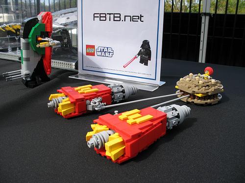 Zilele Star Wars 2011. Expozitie de MOC-uri