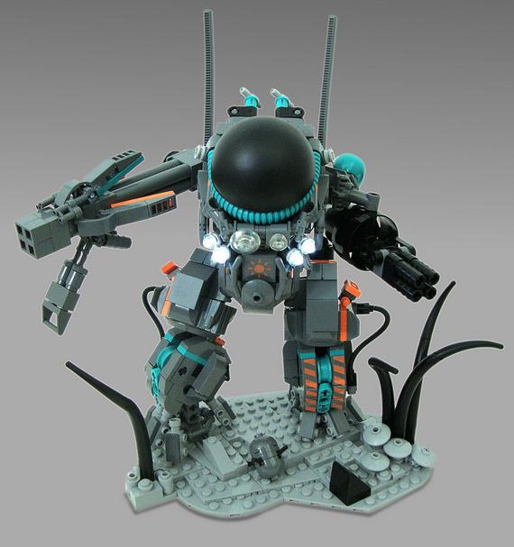 Alien Hard Suit