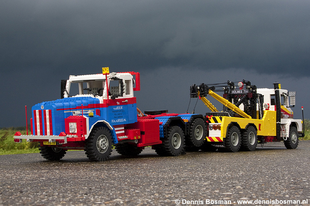 Scania LS141 recovery vehicle