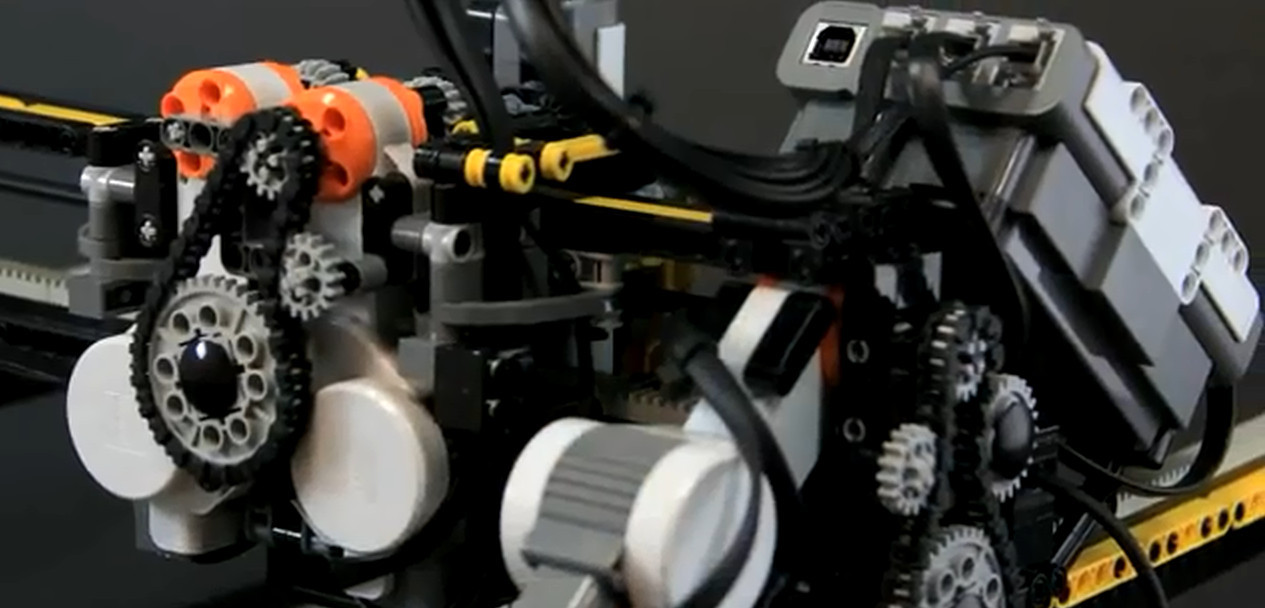 "LEGO 3D Milling Machine – ""3D Printer"""
