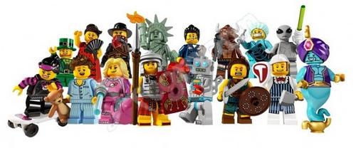 Seriile 6 si 7 LEGO Minifigs