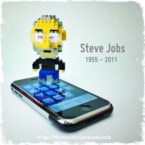 Omagiu adus lui Steve Jobs