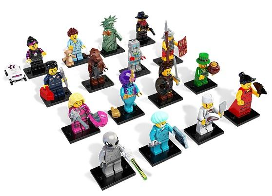 Minifigurine LEGO seria 6