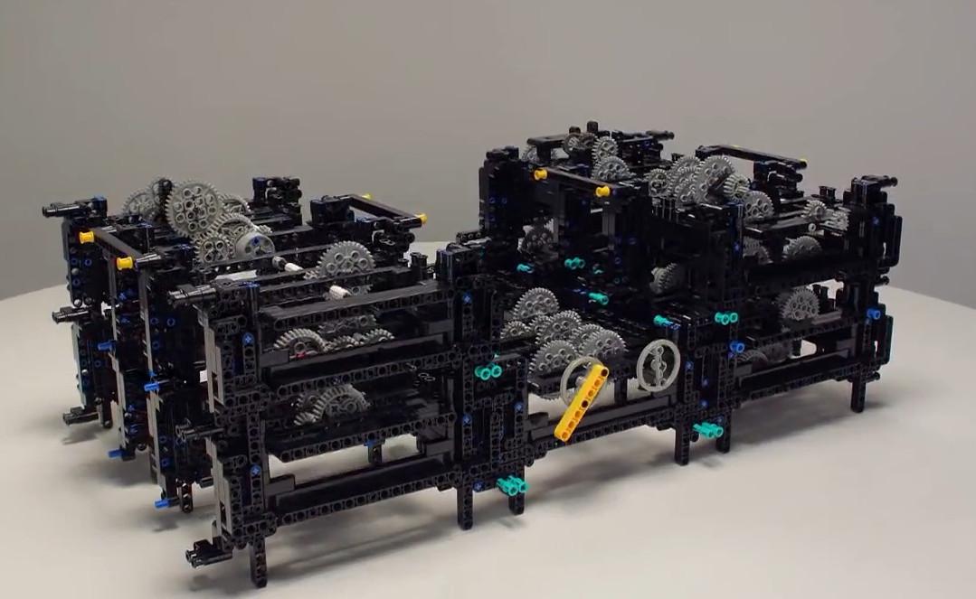 LEGO Antikythera Mechanism