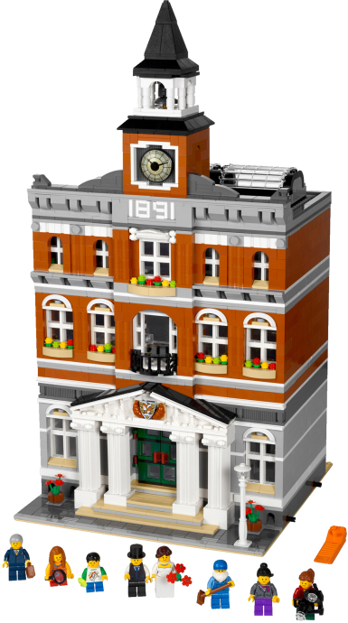 Setul 10224 Town Hall