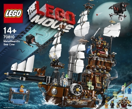 LEGO Set 70810 – MetalBeard's Sea Cow
