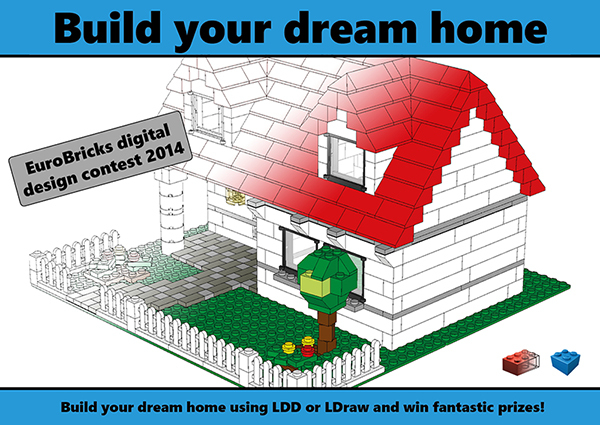 Eurobricks 2014 LDD/Ldraw digital design contest