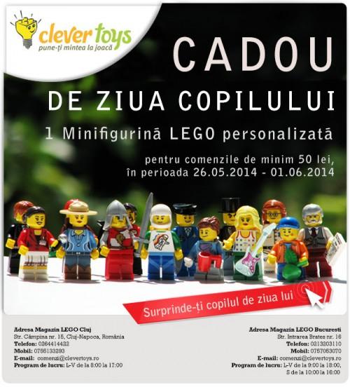 1 minifigurina Lego personalizata