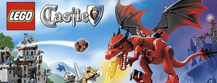 10% reducere la toata gama Lego Castle la Pandy Toys