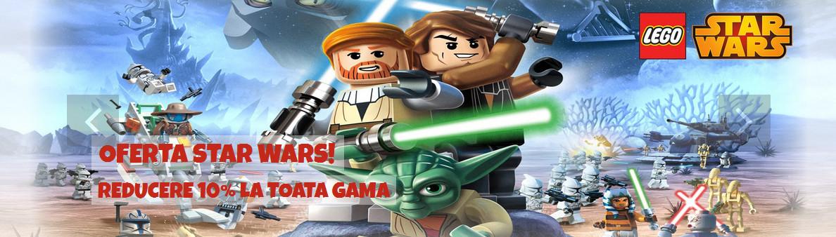 10% reducere la toata gama Lego Star Wars la Land Toys