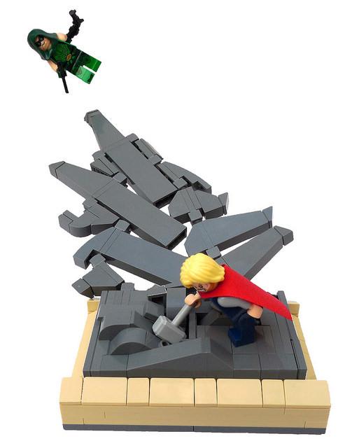 Green Arrow Vs. Thor