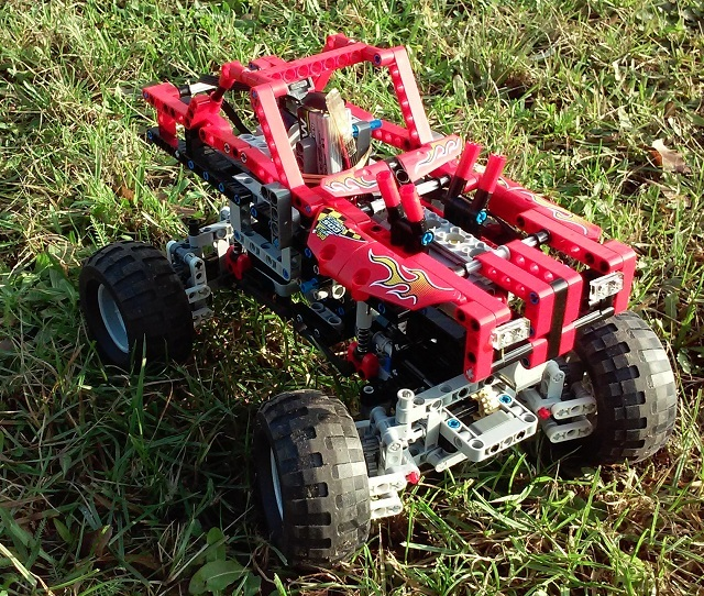 4×4 Red Crawler