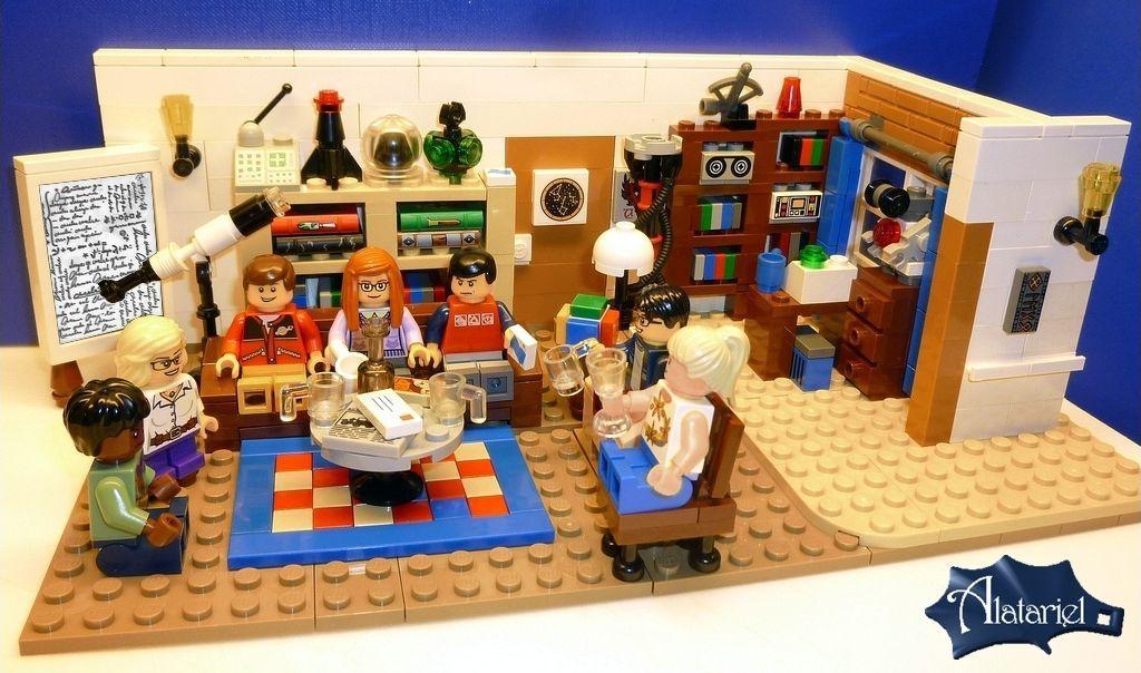 Lego Ideas anunta 2 seturi noi: Birds si Big Bang Theory