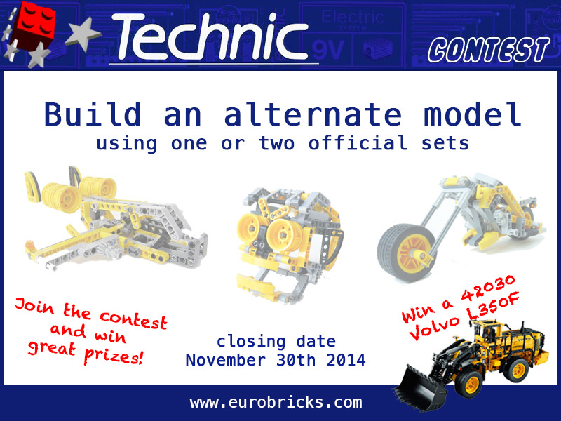 Concurs Technic C-Model organizat de Eurobricks