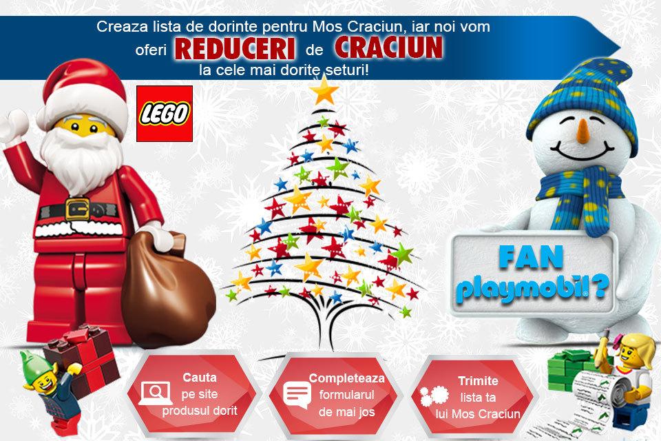 Obtine reducere pentru setul Lego pe care ti-l doresti
