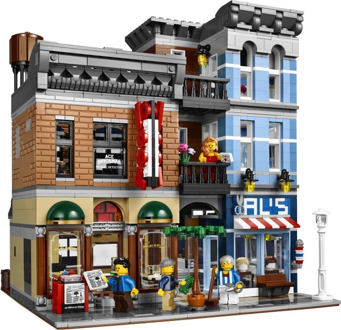 Set 10246 – Detective's Office