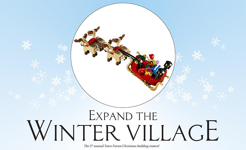 Concurs Eurobricks Winter Village