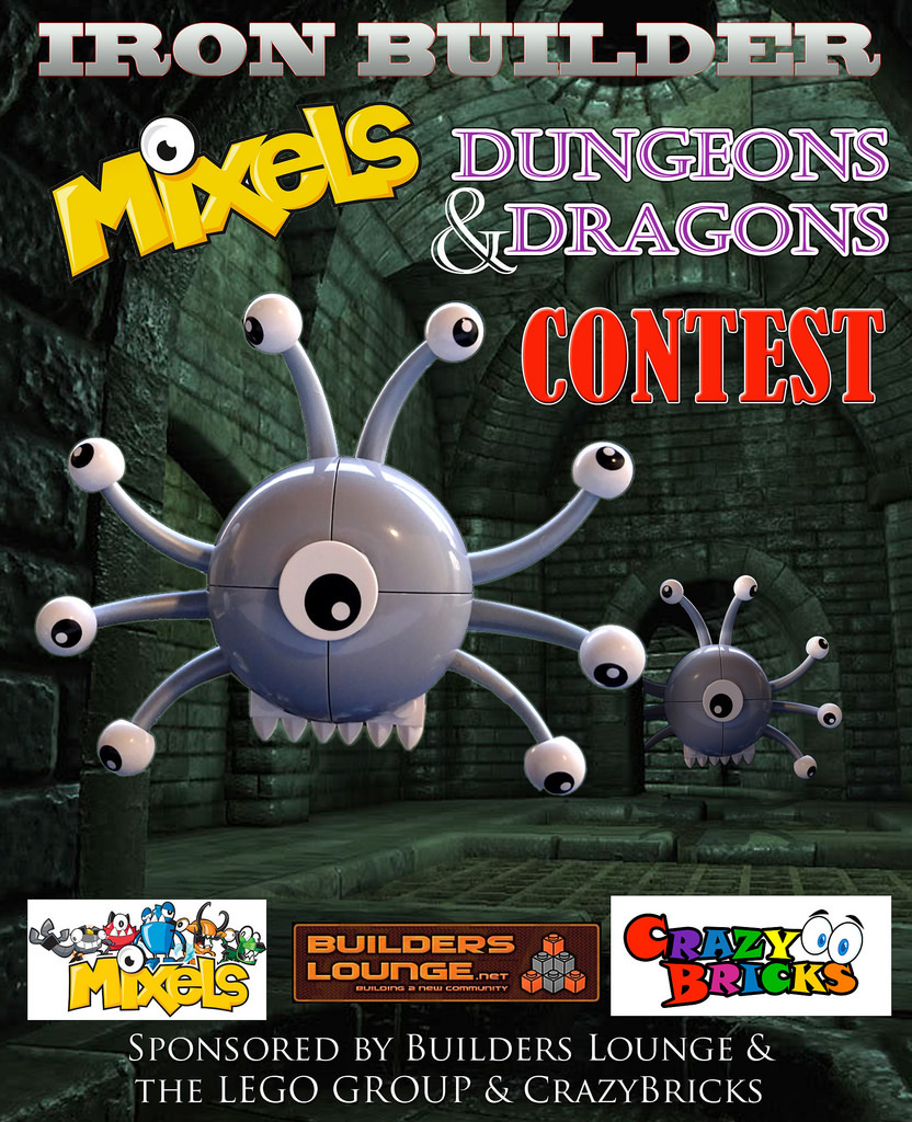 Concurs IRON BUILDER Mixels D&D