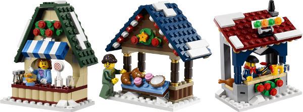 Concurs Toys N Bricks Winter Village Market