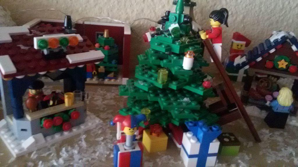 Oraselul Lego de Craciun 2014