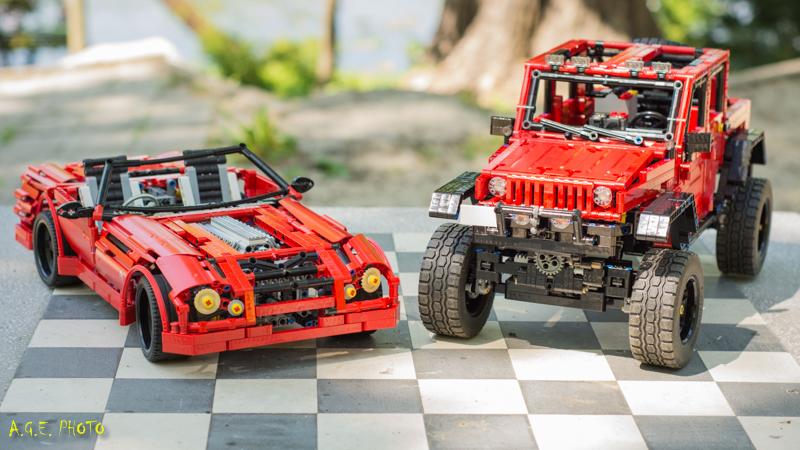 Intalnire technicieni Lego – probe Trial Truck