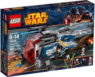 LEGO 75046 Coruscant Police Gunship