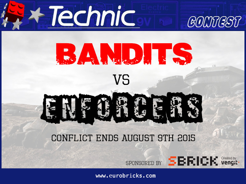 Concurs Eurobricks – Bandits vs Enforcers