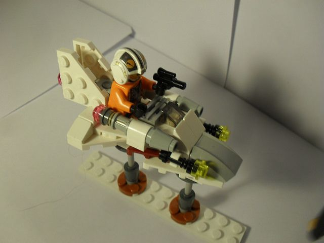 X wing pilot's speeder (custom build)