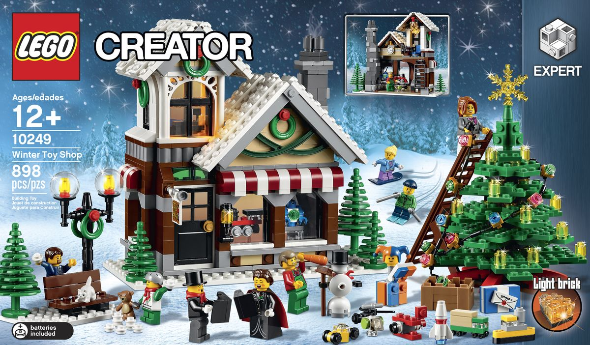 LEGO anunta noul set din seria Winter Village