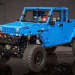 Jeep Wrangler JK Blue Pick-Up