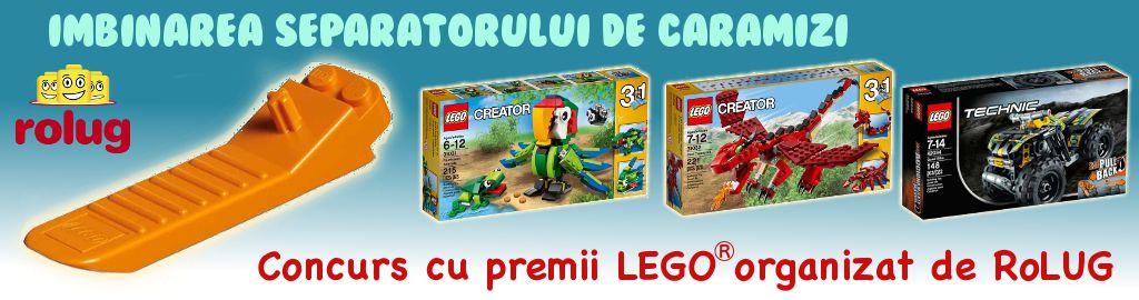 Concurs cu premii LEGO: Imbinarea separatorului de caramizi – regulament