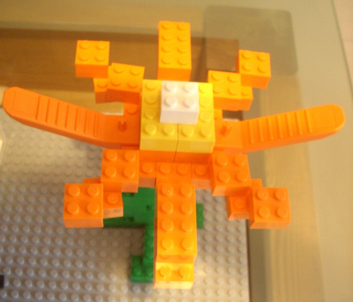 Concurs Imbinarea separatorului de caramizi – creatia 8: Floare cu separator